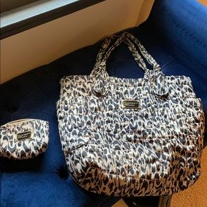 Marc Jacobs nylon Tate tote and matching pouch